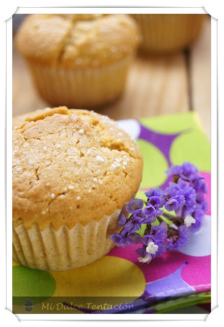 Mi dulce tentación: Magdalenas de Miel y Limón