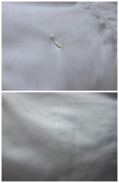 Comment réparer une déchirure ou un trou dans le cuir