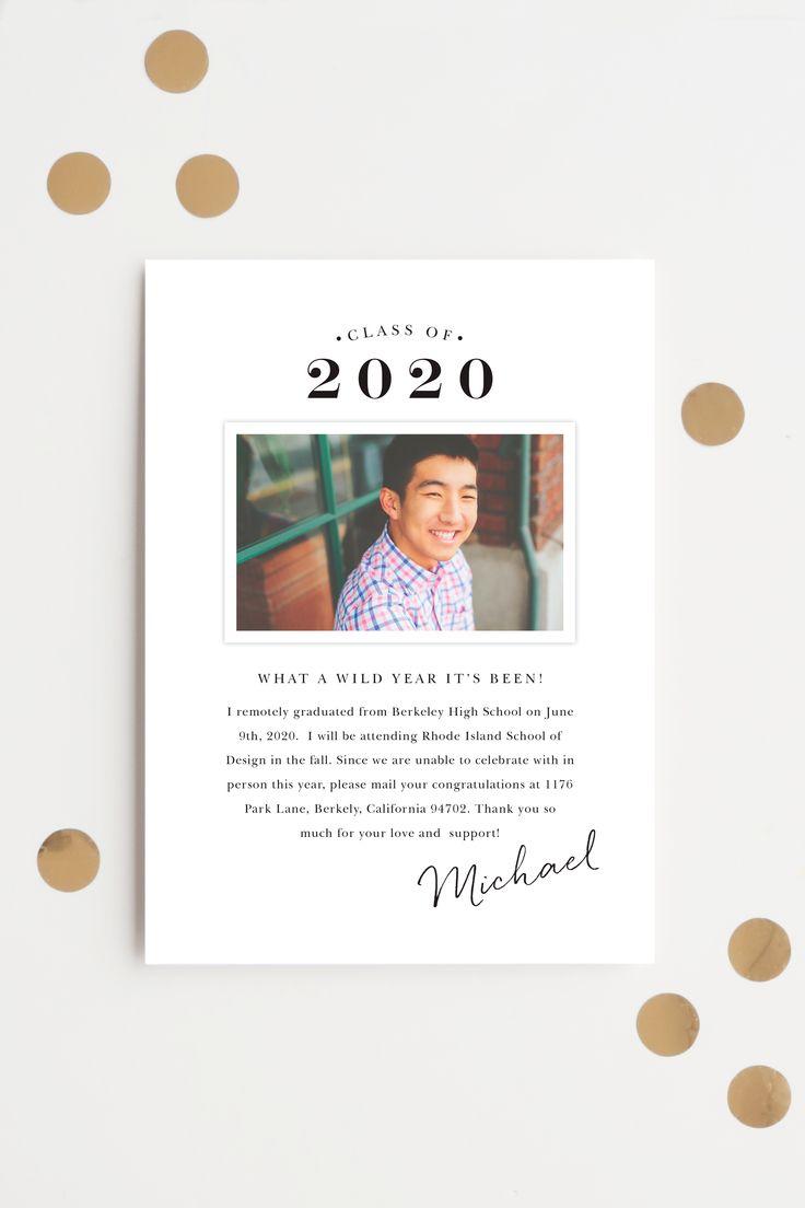 Pin on 2020 graduation announcements invitations