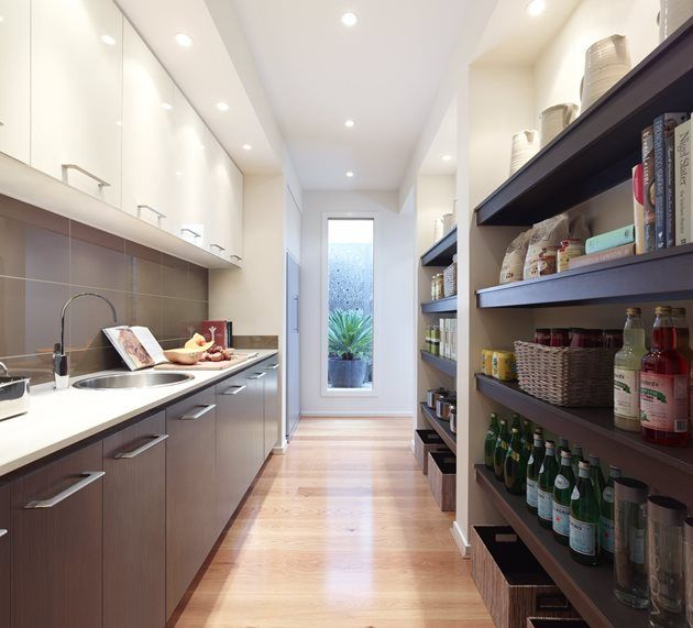 Pantry Long And Light House Project Kitchen