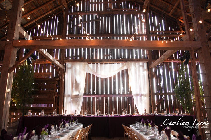 Unique 1800s barn in Caledon available for wedding events