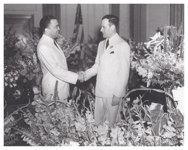Hoover and Tolson - Commie Pinko Fag: Photo