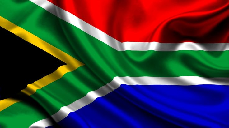 Republic of South Africa Flagge