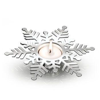 Snowflake Tealight - Christmas from Newbridge Silverware