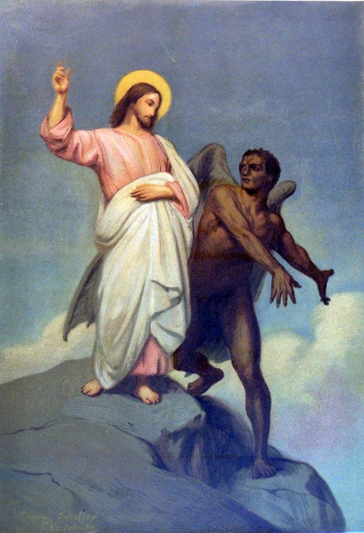 Jesus Tempted   Jesus pictures, Christ
