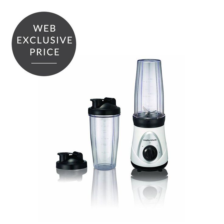 #blender  The Easy Blend from Morphy Richards is the quick and easy way to enjoy delicious drinks on the go. With this smart blender, you blend and drink from the same beaker.