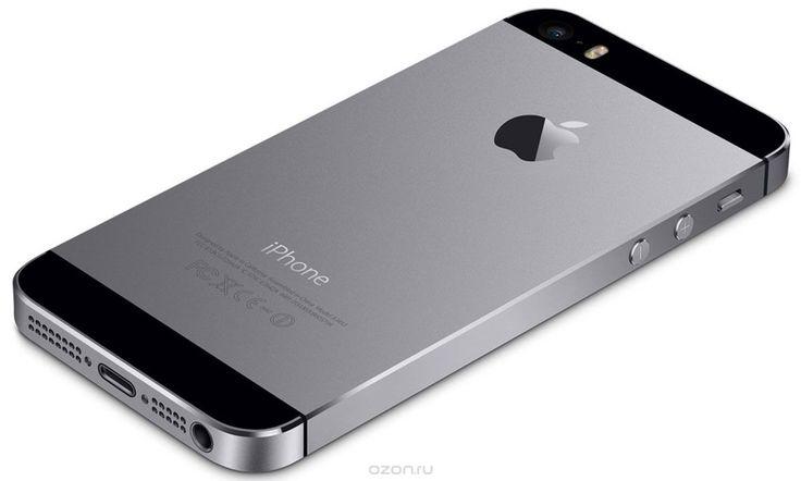 Apple iPhone 5s 16GB, Space Gray - купить в разделе электроника apple iphone 5s 16gb, space gray по лучшей цене от интернет-магазина OZON.ru 29.990р