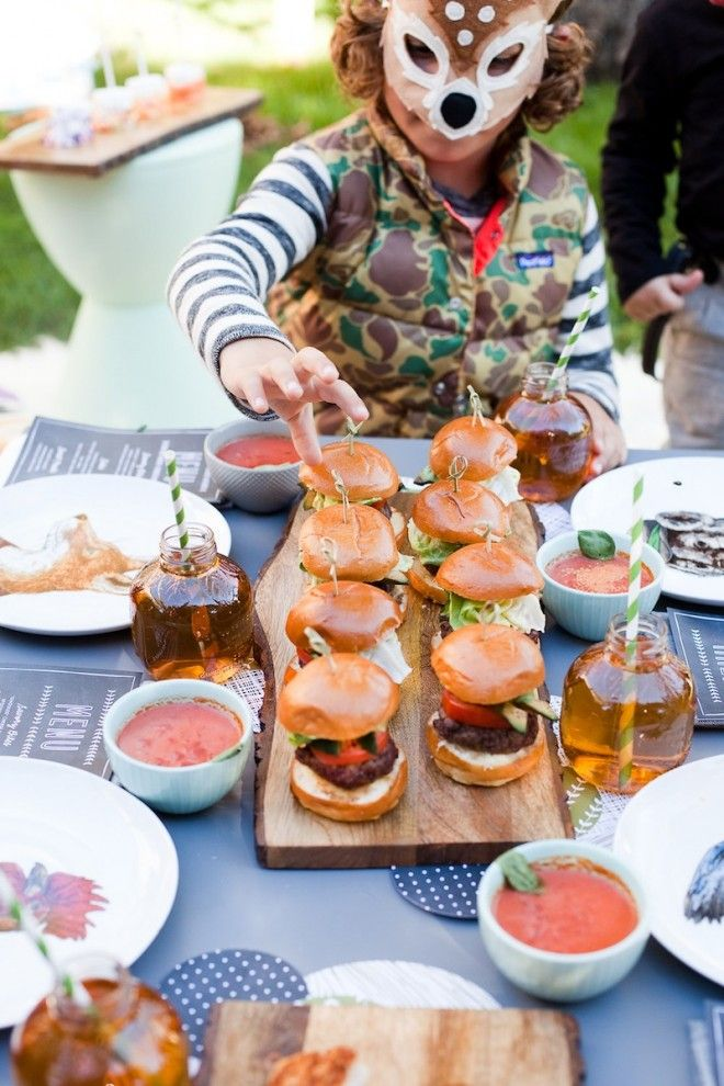 A Backyard Halloween Bash With Minted