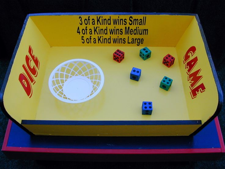 Viva Las Vegas  Couldn't be more simple but neat presentation makes this simple game a winner.perfect for any fundraising event.