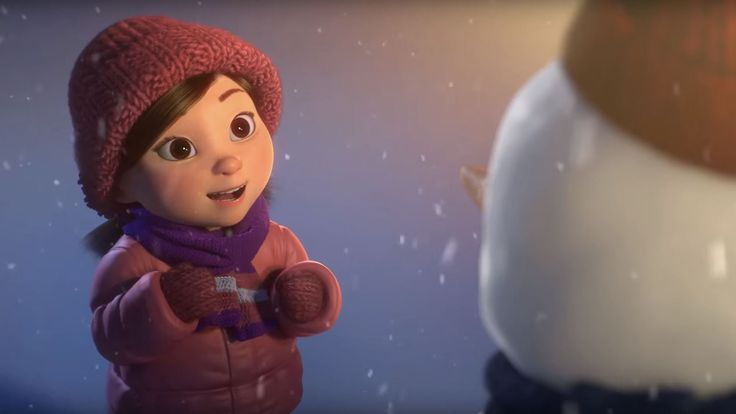 "CGI 3D Animated Short HD: ""Lily and the Snowman"" - by Hornet Films"