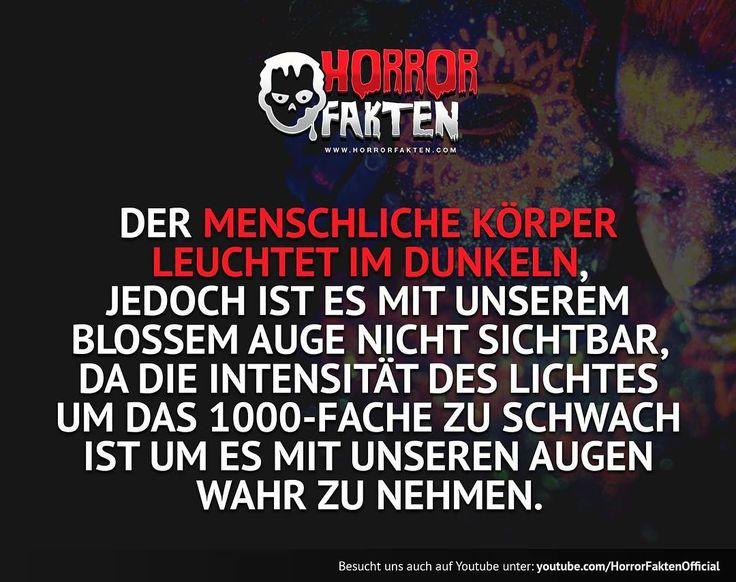 Man nennt es auch die menschliche Aura  #horrorfakten