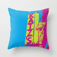 Throw Pillow featuring On the East Side by designed to a T