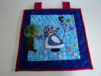 F.D.: El trabajo de patchwork de wakana