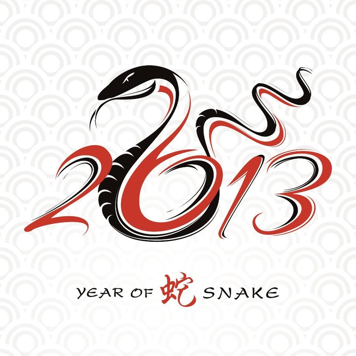 2013 is the year of snake