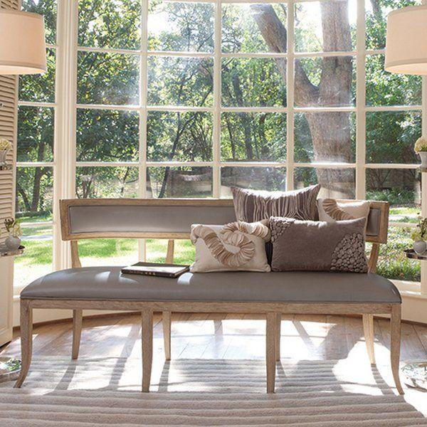 Gorgeous! Global Views Klismos Traditional Bench #bebetsy #contest