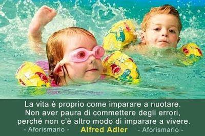 Aforismario®: Nuoto - Frasi e citazioni sul Nuotare