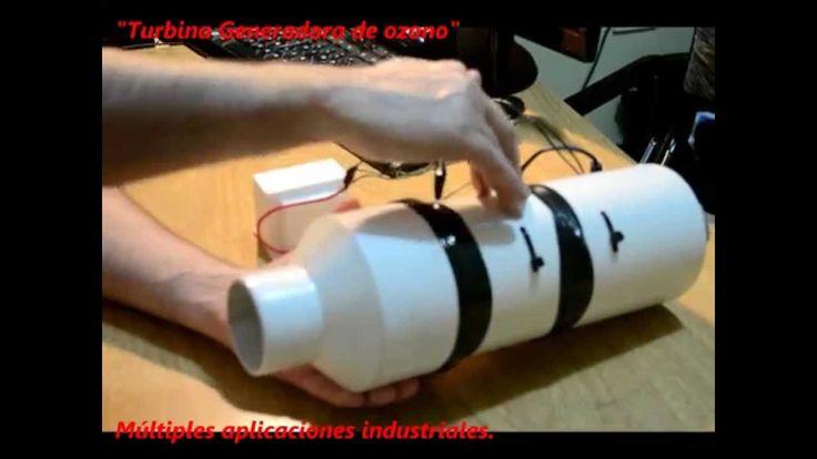 Cómo hacer una turbina de ozono casera
