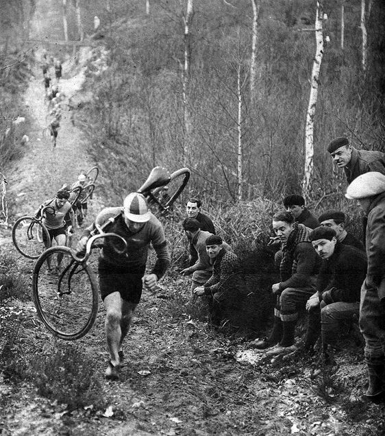 Tour de France...wonder what year this was :-)