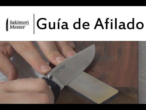 Guía de afilado de cuchillos y espadas