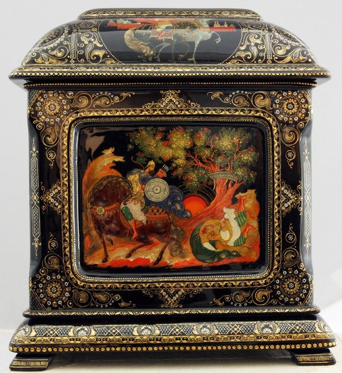 Palekh: Russian Lacquer Art Titled Heroic Russia Artist Andrey Arapov