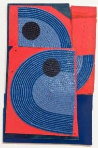 Untitled (Red & Blue) by Dominic Beattie mini print