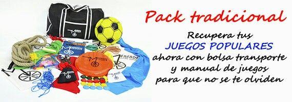 Pack juegos tradicionales del mercader