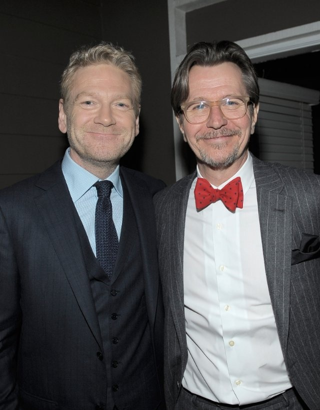 This picture makes me extremely happy!!! Kenneth Branagh and Gary Oldman