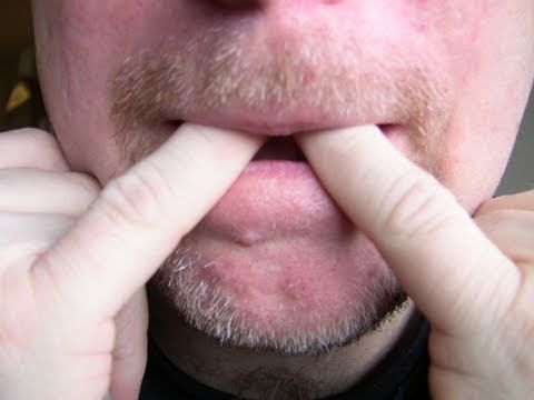 How-to whistle with fingers (easiest way)! - YouTube