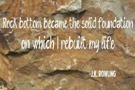 Regardless of how you feel, you're not alone and you can get off that rock writes Coach Bobbi.