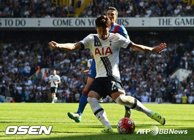 손흥민이 9월20일 잉글랜드 프리미어(EPL)리그 크리스털 팰리스와의 홈 경기에서 데뷔골이자 결승골을 기록했다