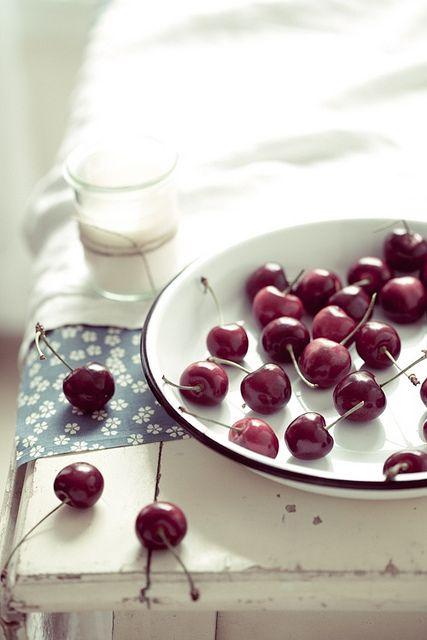 Cherries by tartelette, via Flickr