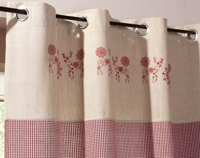 rideau style montagne coin de montagne pinterest chalets comment et d co. Black Bedroom Furniture Sets. Home Design Ideas