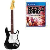 Rock Band 4 Wireless Fender Stratocaster Guitar Controller Bundle - PlayStation 4, Multi