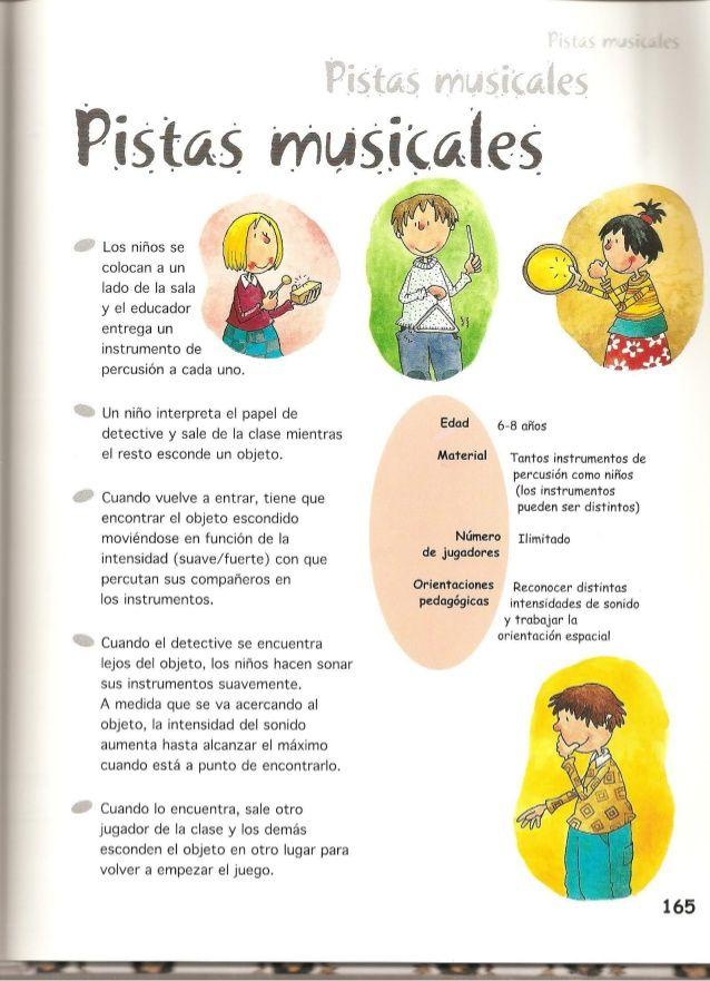 Juegos De Música Y Expresión Corporal Actividades Musicales Preescolares Juegos De Expresion Corporal Juegos De Educación Musical