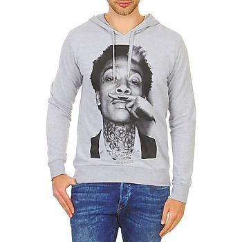 Wiz Khalifa sur mon sweat-shirt !  Eleven Paris WIZKA HD Gris  http://www.spartoo.com/Eleven-Paris-WIZKA-HD-x202059.php