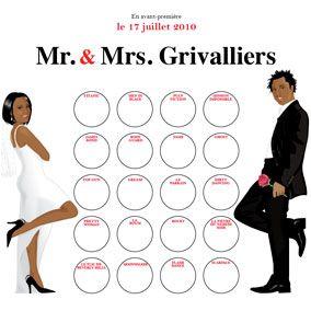 24 best faire part de mariage cin ma save the date for Table theme gourmandise