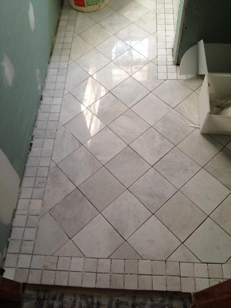 1000 images about bathroom floor tile on pinterest for Redo bathroom floor