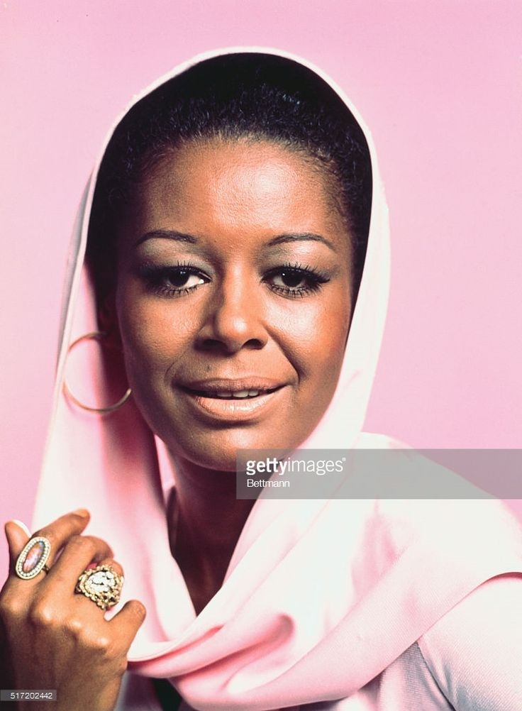 Actress Gail Fisher in a publicity handout for the TV series Mannix.