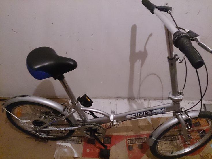 Bicicleta plegable borisan ,cambios en puños, ruedas casi nuevas, barata. Propiedad de componentes bicicleta baratos en Zaragoza.