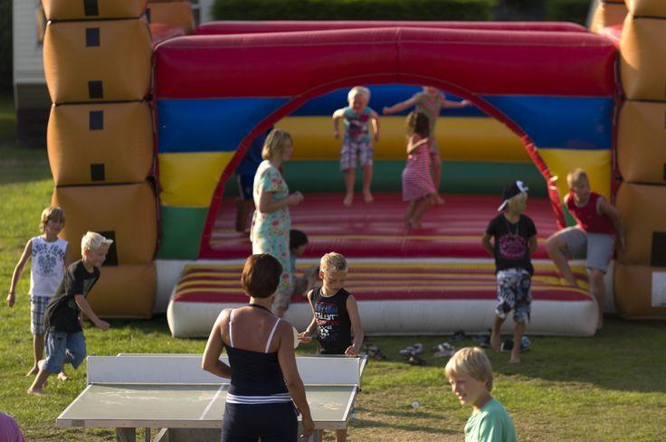 Activiteiten op de camping tijdens de MooiWeer Zomerspelen www.mooiweerzomerspelen.nl