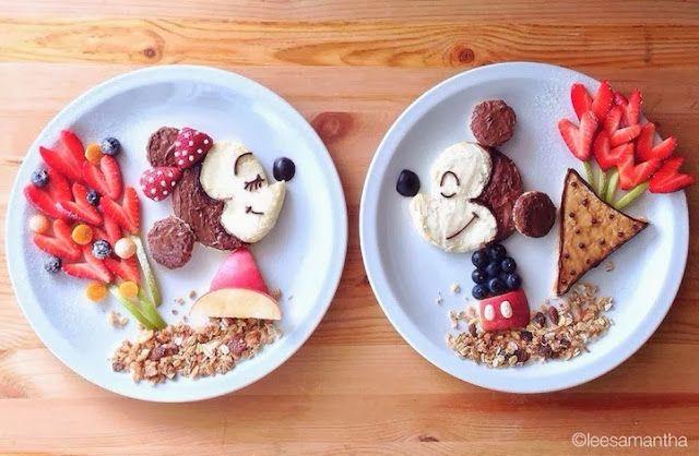 Disney Minnie Mickey  - Art Foods