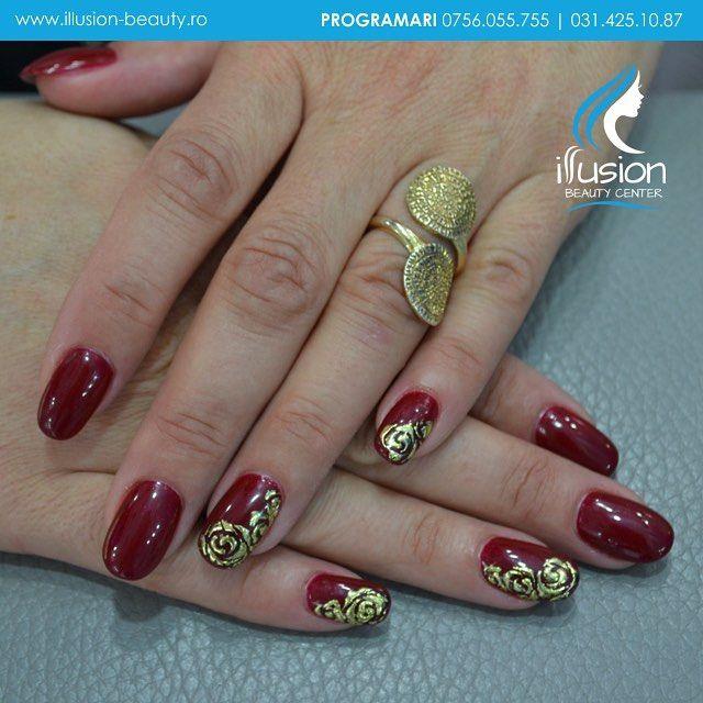 Signature Nails By Elena Vasilache, Illusion Beauty. Acrylic Nails #liquidstones instagram: illusion beauty center www.illusion-beauty.ro