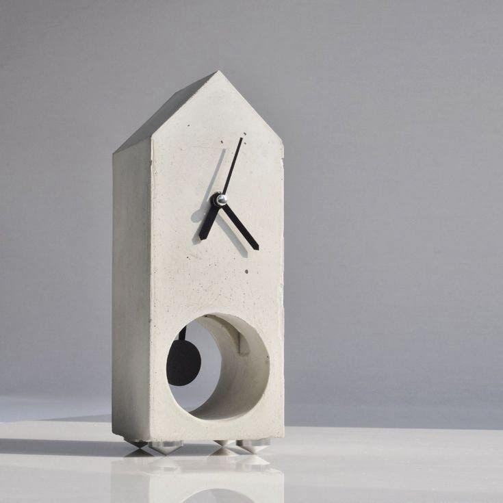 fabriquer une horloge en b ton diy projects to try. Black Bedroom Furniture Sets. Home Design Ideas