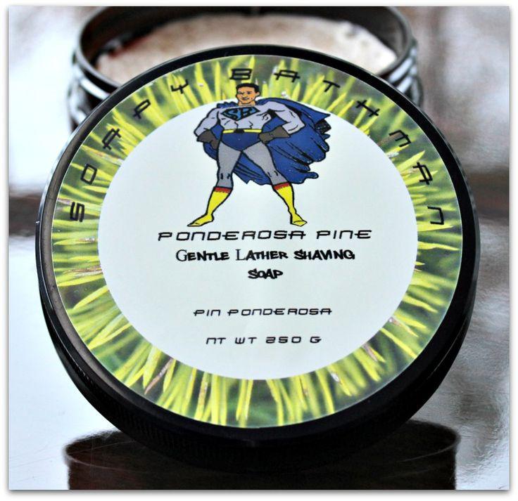 Ponderosa Pine Shave Soap