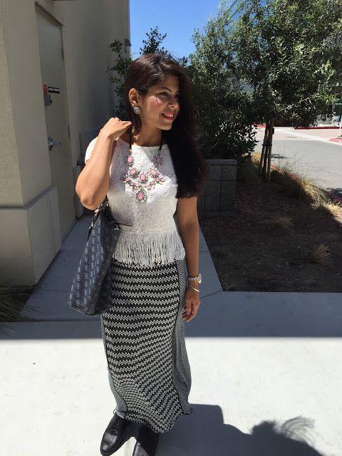 Boho Vibe in this #maxiskirt for fashupwithshivani.comi