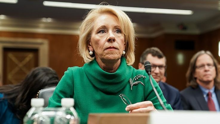 Devos guidance directs school districts to increase