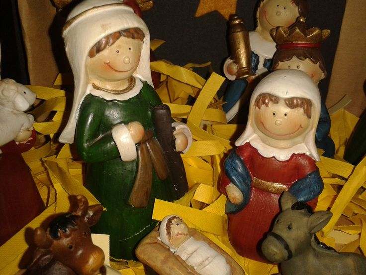 Our nativity scene - remembering the true meaning of Christmas :) #CKCrackingChristmas