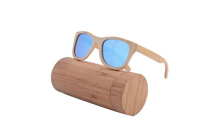 These bamboo sunglasses are perfect for the beach or beside the pool. They float so that you will never need to be concerned if they end up in the water.