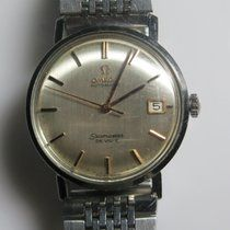 Omega Seamaster DeVille Automatic Date Steel Mens Watch