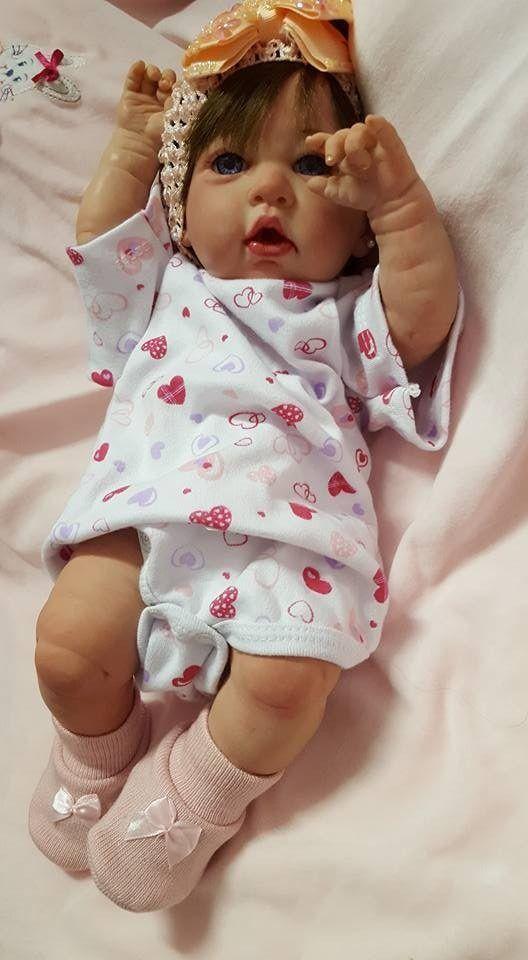 bebe reborn toda  em  vinil  39 cm linda ! promoção